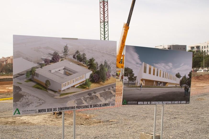 Las obras del Conservatorio de Danza tienen previsto finalizar en septiembre del año que viene.