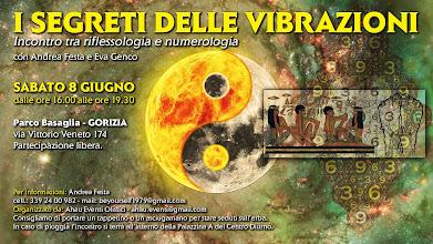 Foto: Presentazione: I segreti delle vibrazioni. Incontro tra riflessologia e numerologia. 8 giugno 2013 a Gorizia.