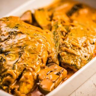 Norwegian Salmon Fish Head Curry.
