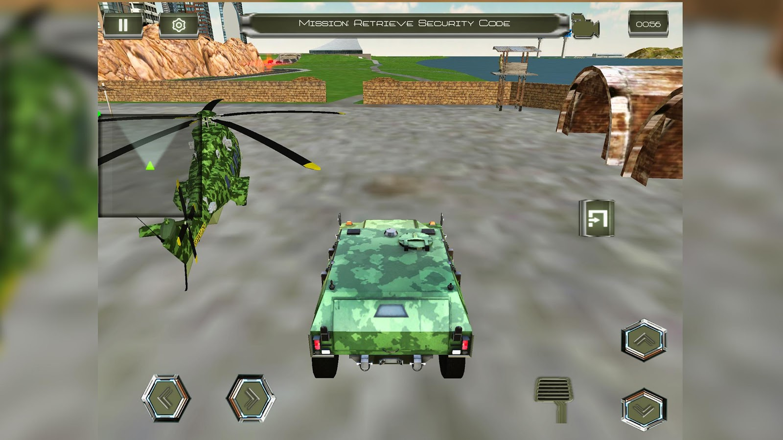 Army Criminals Transport Plane 2.0- screenshot