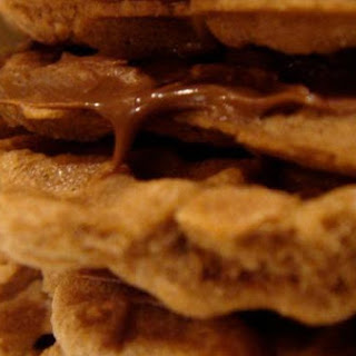 Nutella Chocolate Pizzelle Sandwiches