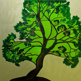 elm tree by Paul Robin Andrews - Painting All Painting ( tree, elm, oil painting )
