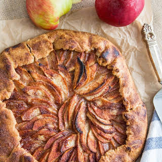 Rustic Pear and Apple Galette.