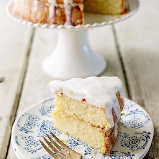 Lemon Marshmallow Cake.