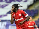 """Mbokani a envoyé un message : """"Nous sommes tous fans de Dieu à Anderlecht"""""""
