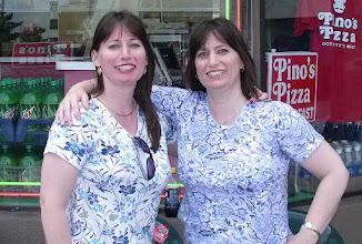Photo: My classmates Marlene & Darlene  from Sherwood High School 1983`