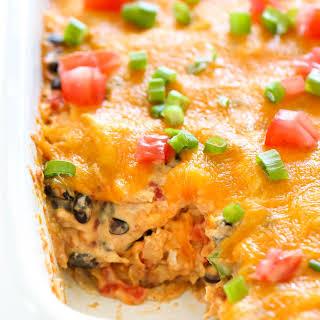 Chicken Taco Casserole.