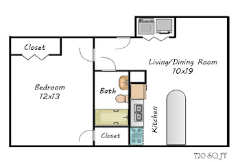 Go to The Martin Floorplan page.