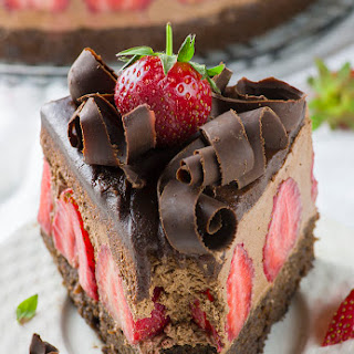 Chocolate Cake With Strawberries Recipes.