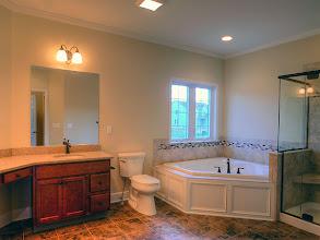 Photo: The LEIGHTON master bath.