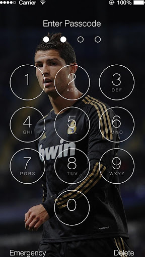 Cristiano Ronaldo Lock Screen HD Best Quality for PC
