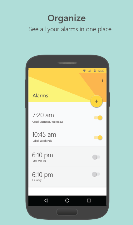 Mimicker Alarm- screenshot