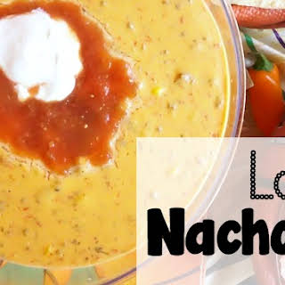 Easy Slow Cooker Loaded Nacho Dip.