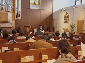 Photo: 主題「教会が受け継ぐ歴史と伝統―三軒茶屋教会のケース」