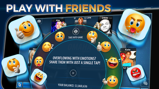 Omaha & Texas Hold'em Poker: Pokerist 31.3.0 screenshots 8