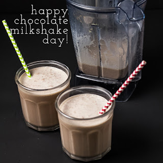 Chocolate Milkshake (Malt or No Malt)