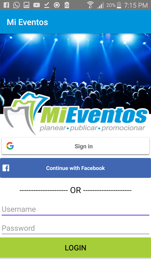 MiEventos Check-In- screenshot