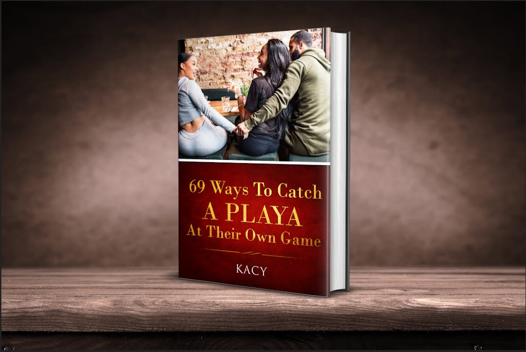 69 Ways To Catch A Playa Official Book Cover 2