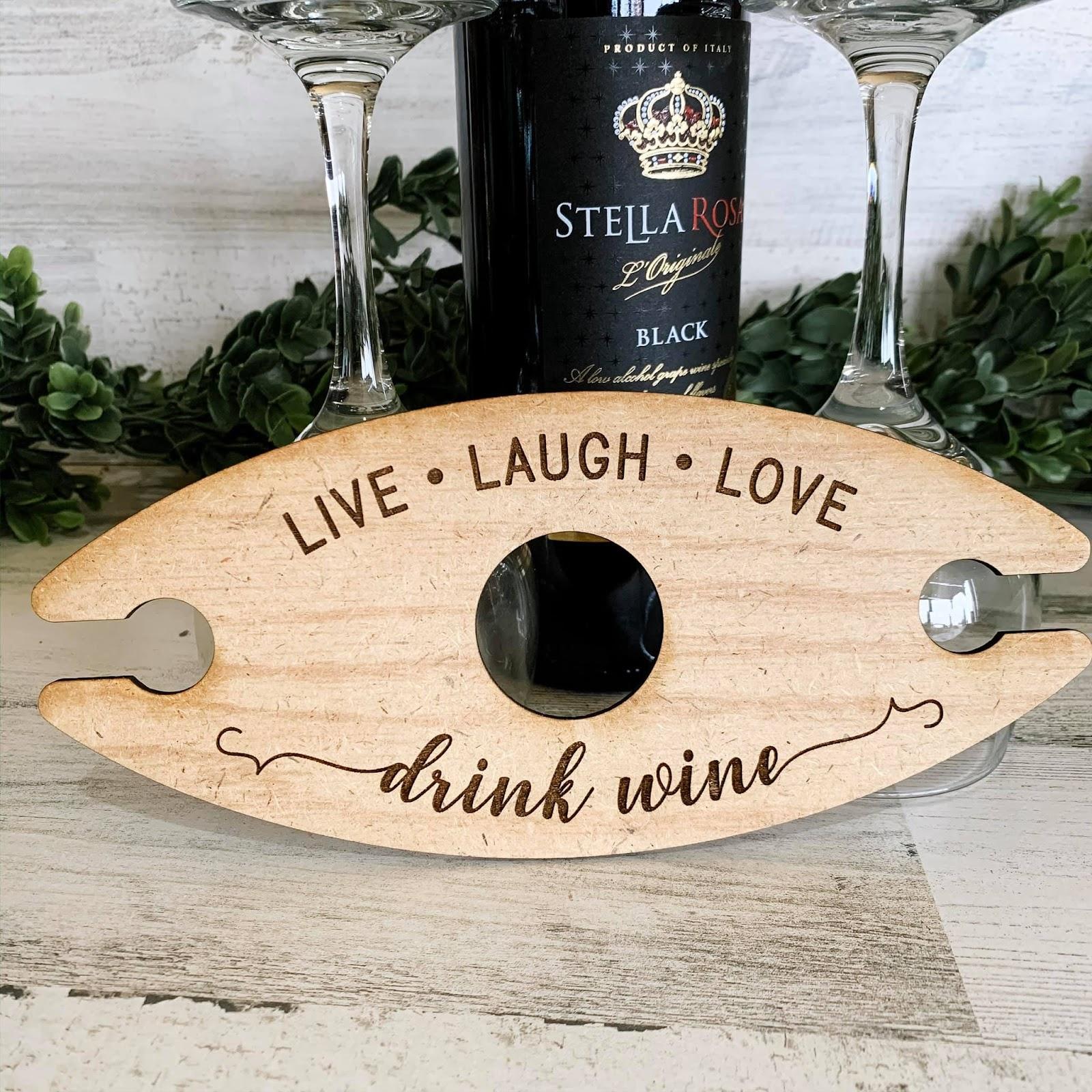 wooden wine butler