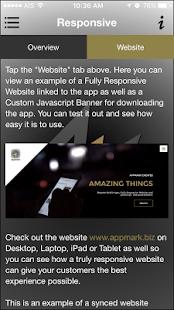 Appmark - náhled