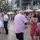 dancing at Canal De L'Ourcq in Paris, Paris - Ile-de-France, France