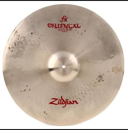 """22"""" Zildjian Oriental - Crash Of Doom"""