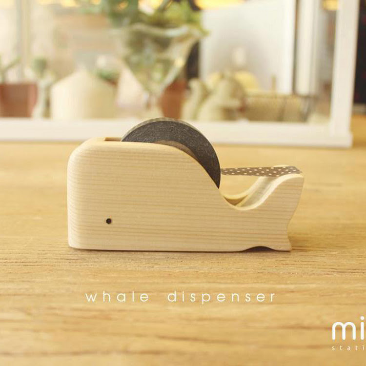 WHALE Tape Dispenser by Mink's by Pipit Zakka Store