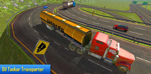 Oil Tanker Transporter Truck Simulator for PC
