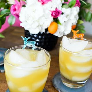 Apple Bourbon Cocktail.