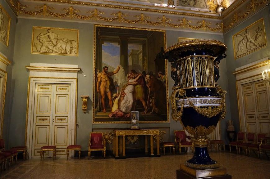 Inside the Palazzo Pitti