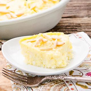 Amaretto Rice Pudding