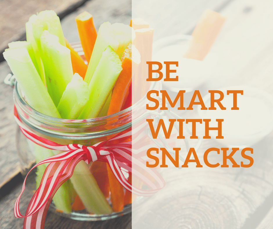 Be smart with snacks