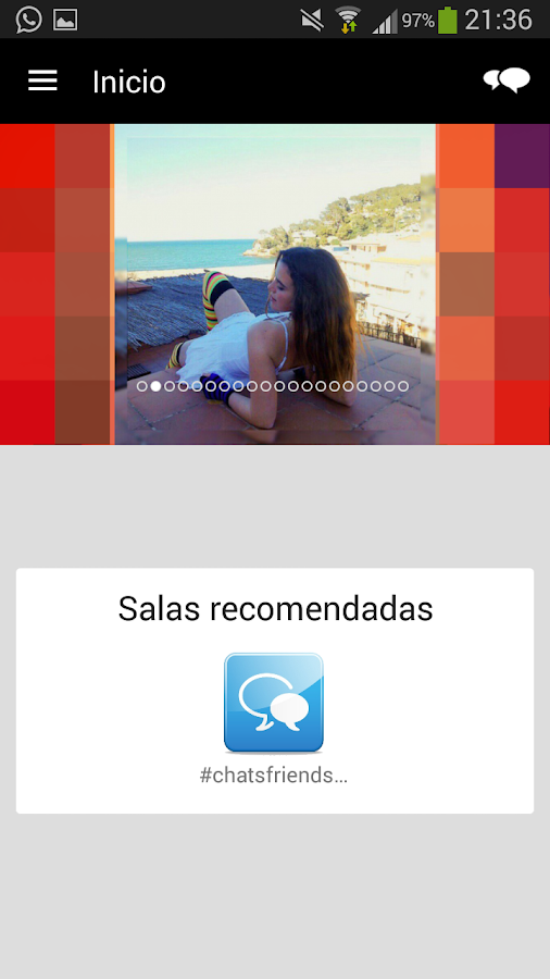 Chat ligar android