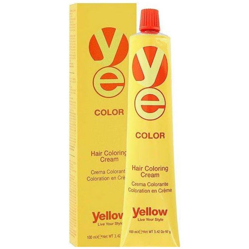 tinte yellow color tubo 5 castano claro