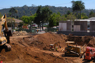 Photo: Excavate Parking Lot Santa Barbara