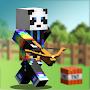 Bouncing Hunter: Block Art, 3D