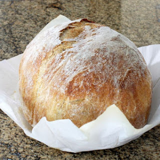 Crusty No-Knead Bread.