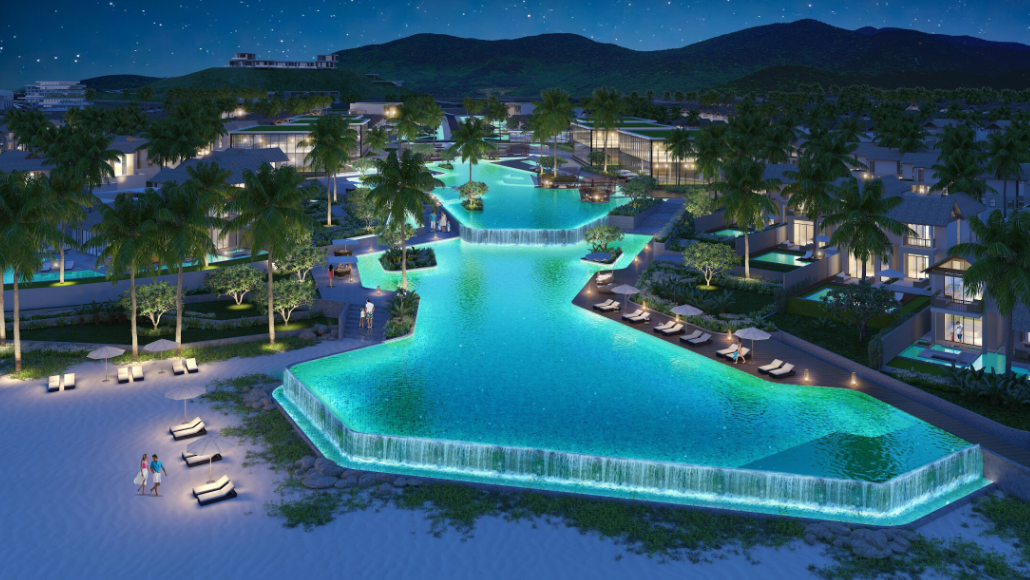 Premier Village Kem Beach Resort Phú Quốc sẽ đầy huyền ảo về đêm