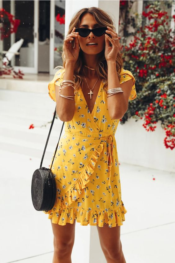 dress with cool shades