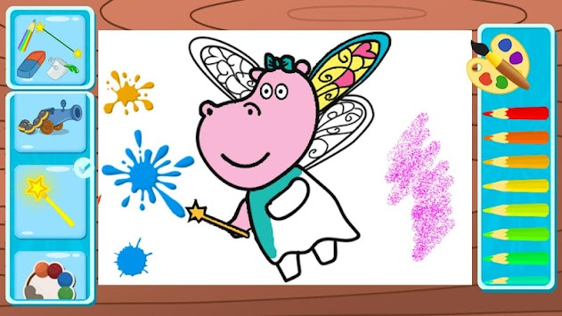 Kids Games Coloring Book APK Screenshot Thumbnail 2