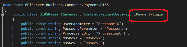 Migrating payment gateway