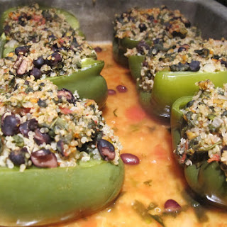 Tasty Quinoa Stuffed Peppers