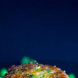 Curried Brown Rice and Zucchini Fritters