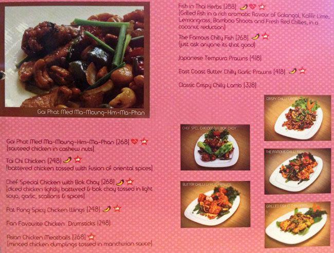 Orange Chopsticks menu 8