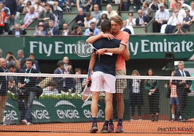 Dominic Thiem en Alexander Zverev nemen het vrijdag tegen elkaar op