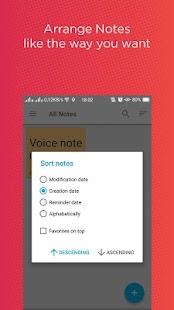 Note - Sticky Notes + Widget - náhled