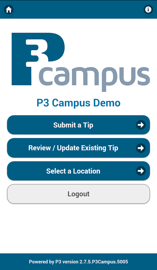 P3 Campus- screenshot