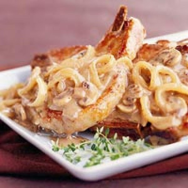 Pork Chops With Mushroom Sauce Recipe