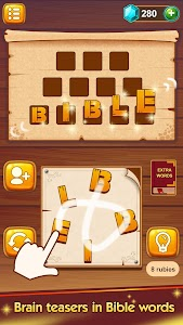 Bible Word Puzzle - Free Bible Games 이미지[1]
