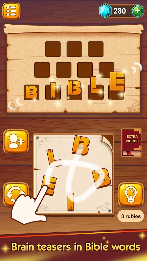Bible Word Puzzle - Free Bible Games 이미지[6]